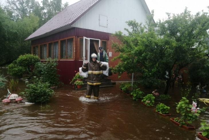 В Олхе проводится эвакуация жителей