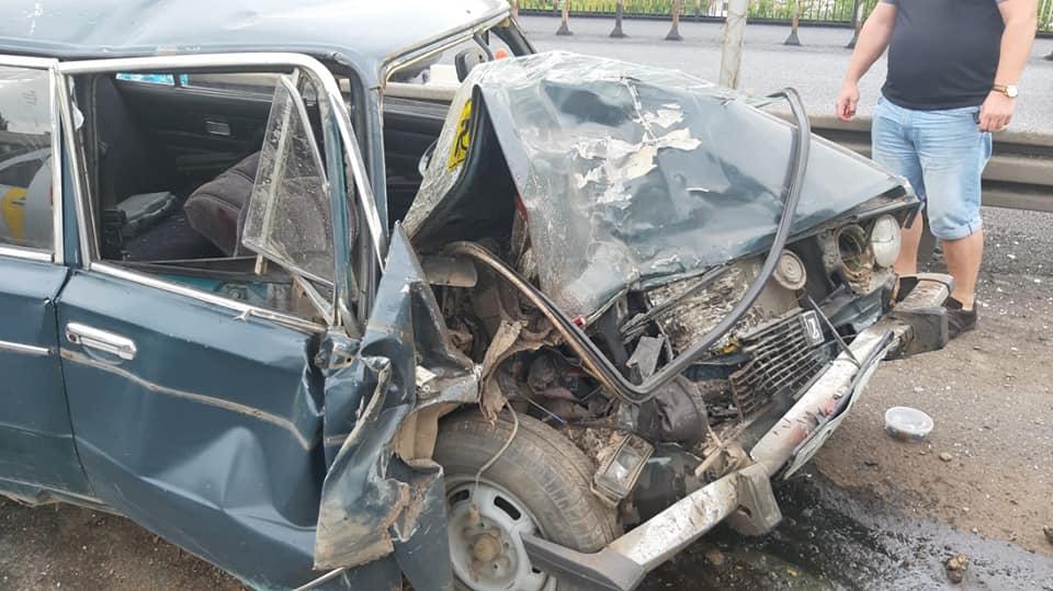 В Уфе в столкновении трех автомобилей погиб 77-летний мужчина