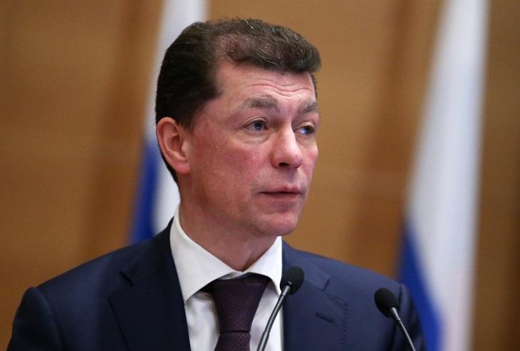 Министр труда и социальной защиты РФ Максим Топилин прибыл в Тулун
