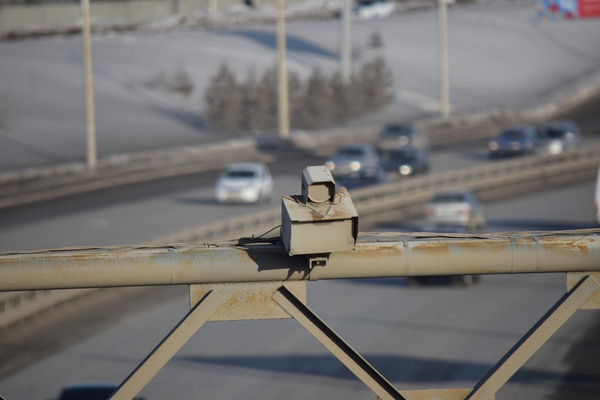 На дорогах Башкирии в тестовом режиме заработали новые камеры
