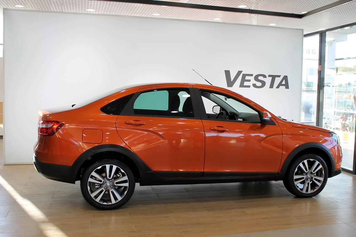 Башкирия попала в десятку регионов по объему рынка Lada Vesta