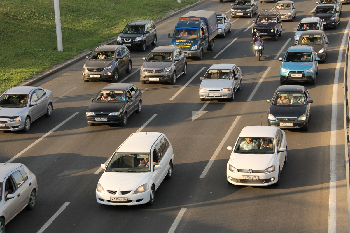 Сегодня в Уфе вводят транспортные ограничения из-за жары