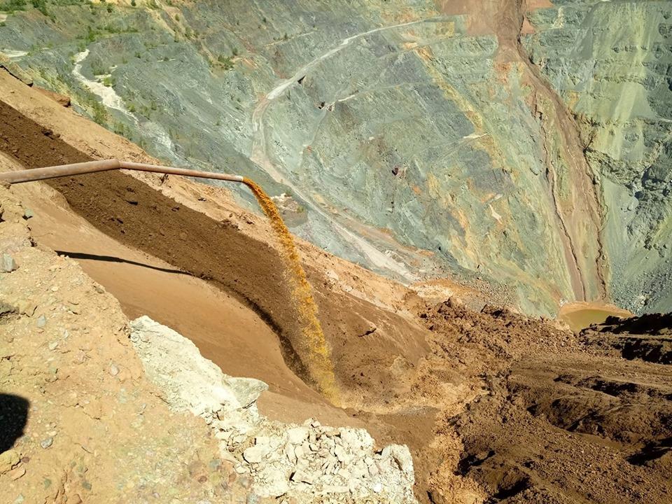 Группа экспертов обследовала сибайский карьер: Обнаружили три группы очагов тления руды