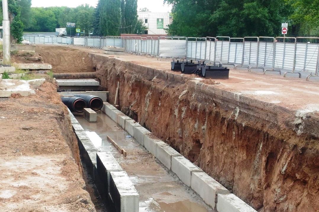 В Уфе из-за строительства теплосети закроют движение на участках улицы Злобина