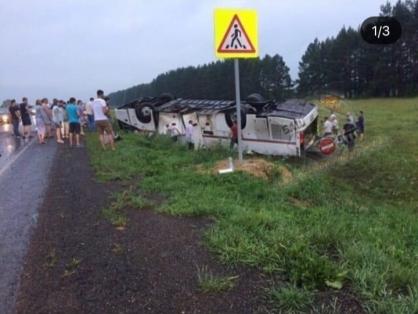 В Башкирии число погибших в аварии с туристическим автобусом выросло до 6 человек