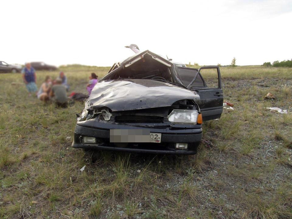 В Башкирии в столкновении двух автомобилей погибла 37-летняя женщина