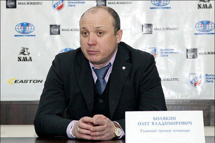 Олег Болякин покунул пост главного тренера ангарского «Ермака»