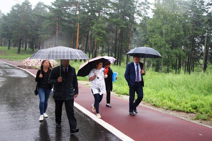 Открытие набережной в Ангарске состоится 29 сентября