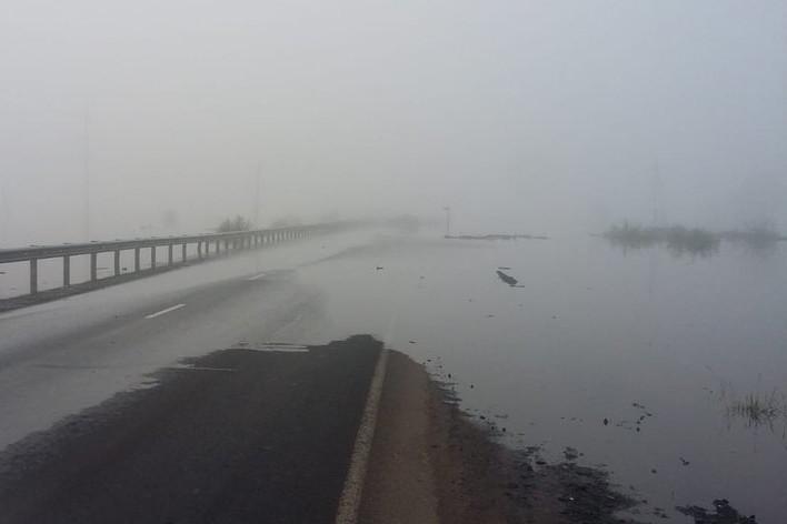 Уровень воды в реке Ия опустился ниже 10 метров