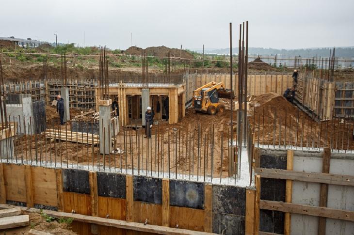 В Новолисихе в Иркутском районе началось строительство детского сада