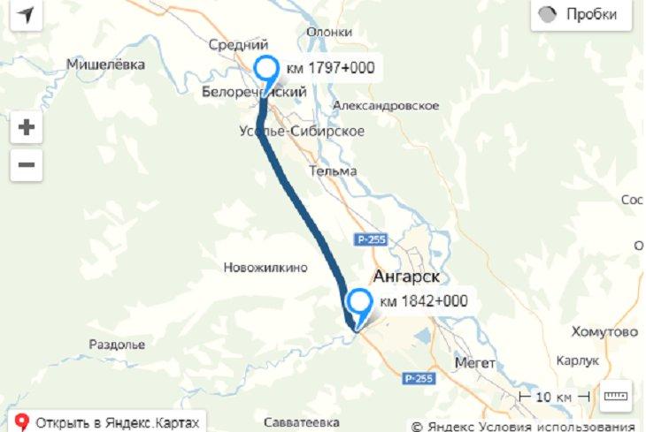 Дорогу в обход Усолья-Сибирского начнут строить в сентябре 2019 года