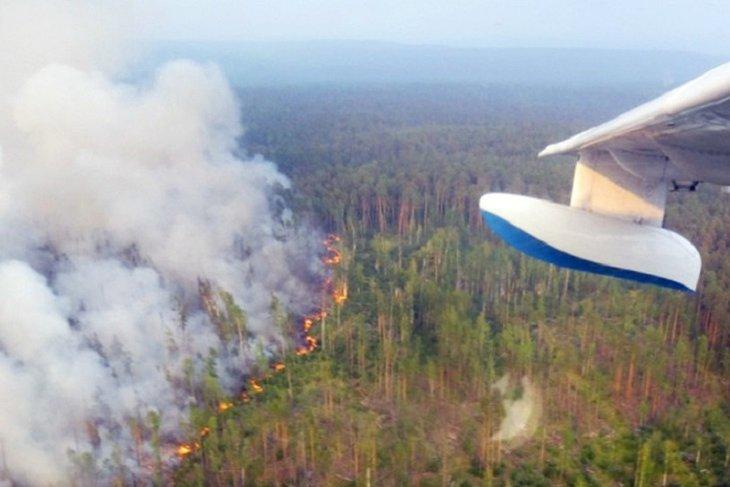 На севере Иркутской области вызовут искусственные осадки для тушения пожаров