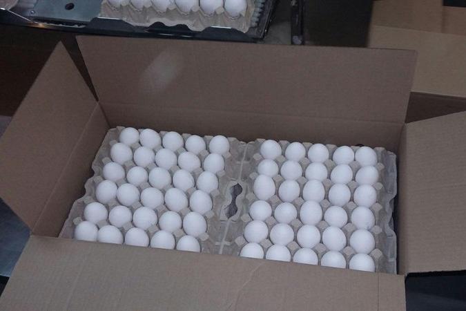 В Слюдянке задержали партию из 190 тысяч куриных яиц без документов