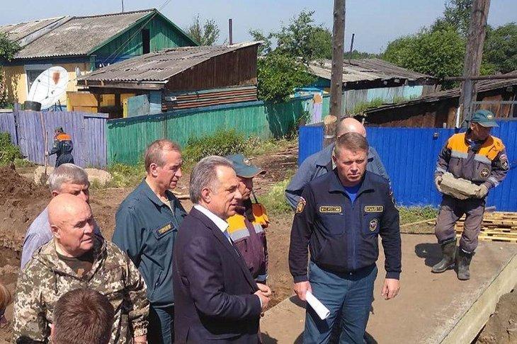 Мутко раскритиковал власти Иркутской области за работу по ликвидации паводка