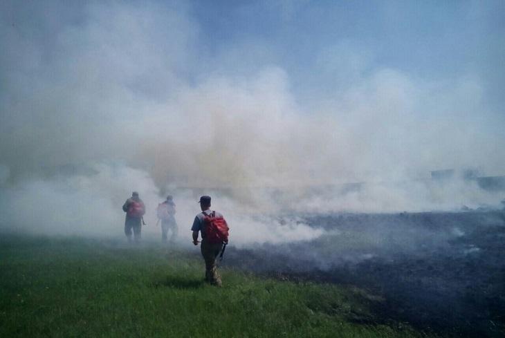 Площадь пожаров в Иркутской области увеличилась за сутки на 42 тысячи гектаров