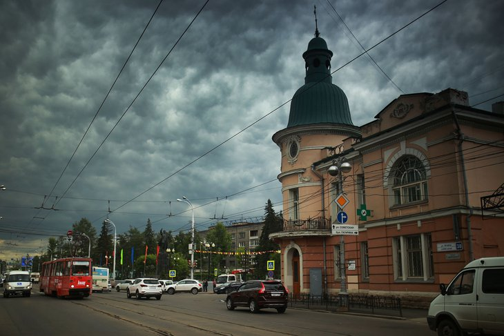В выходные на территории Иркутской области ожидаются дожди