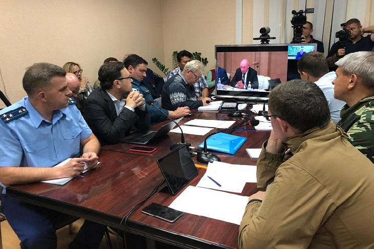 В Правительство РФ внесли проект по восстановлению Иркутской области от наводнения