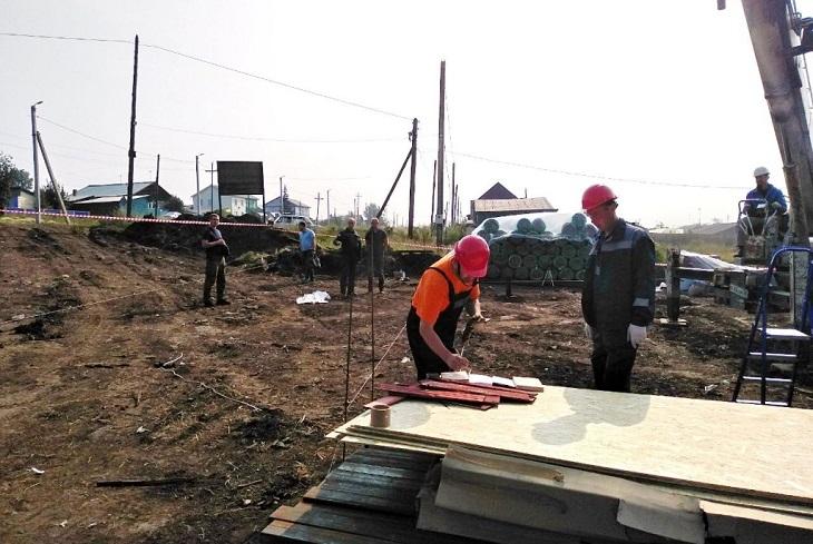 Первые быстровозводимые дома в микрорайоне Березовая Роща в Тулуне построят к октябрю