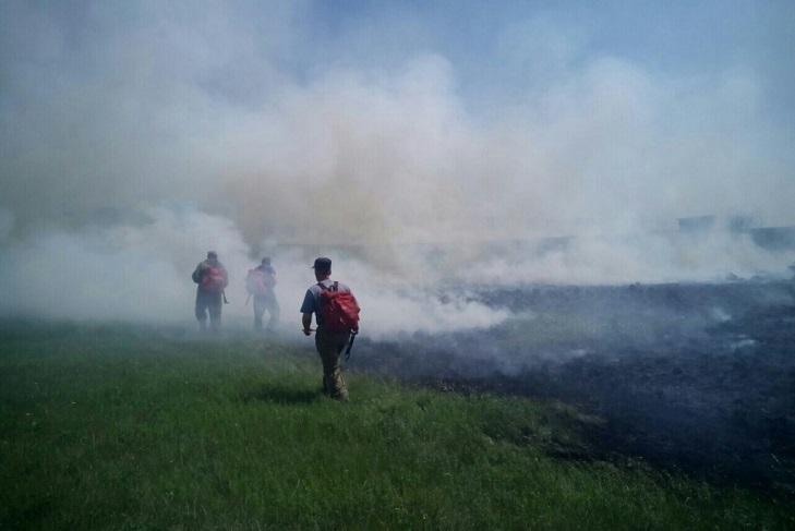 За выходные площадь пожаров в Иркутской области сократилась на 455 тысяч гектаров