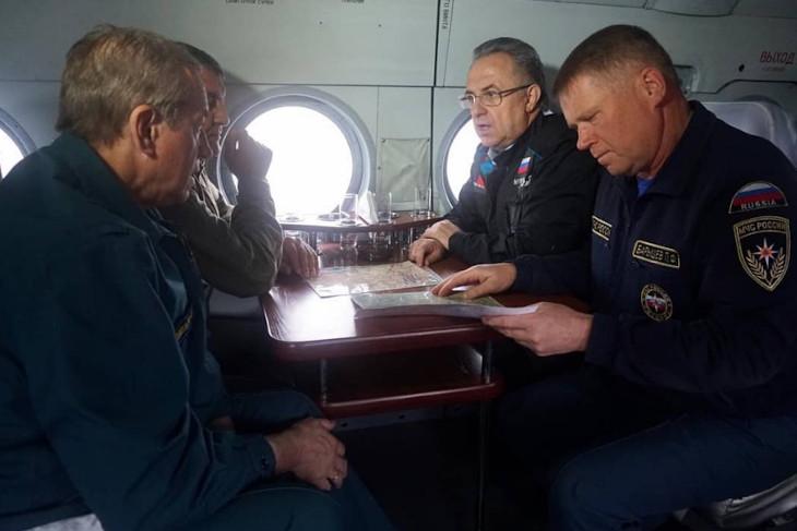 Виталий Мутко прилетел в Иркутскую область