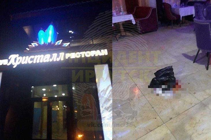 В ресторане «Кристалл» ранили двоих человек во время стрельбы