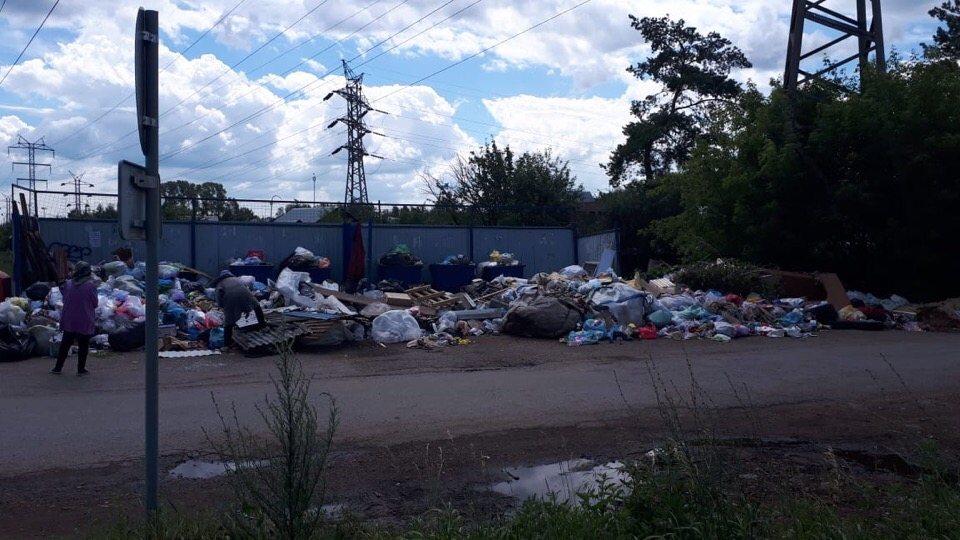 Жителям одного из районов Уфы ответили на жалобу по поводу невывоза мусора