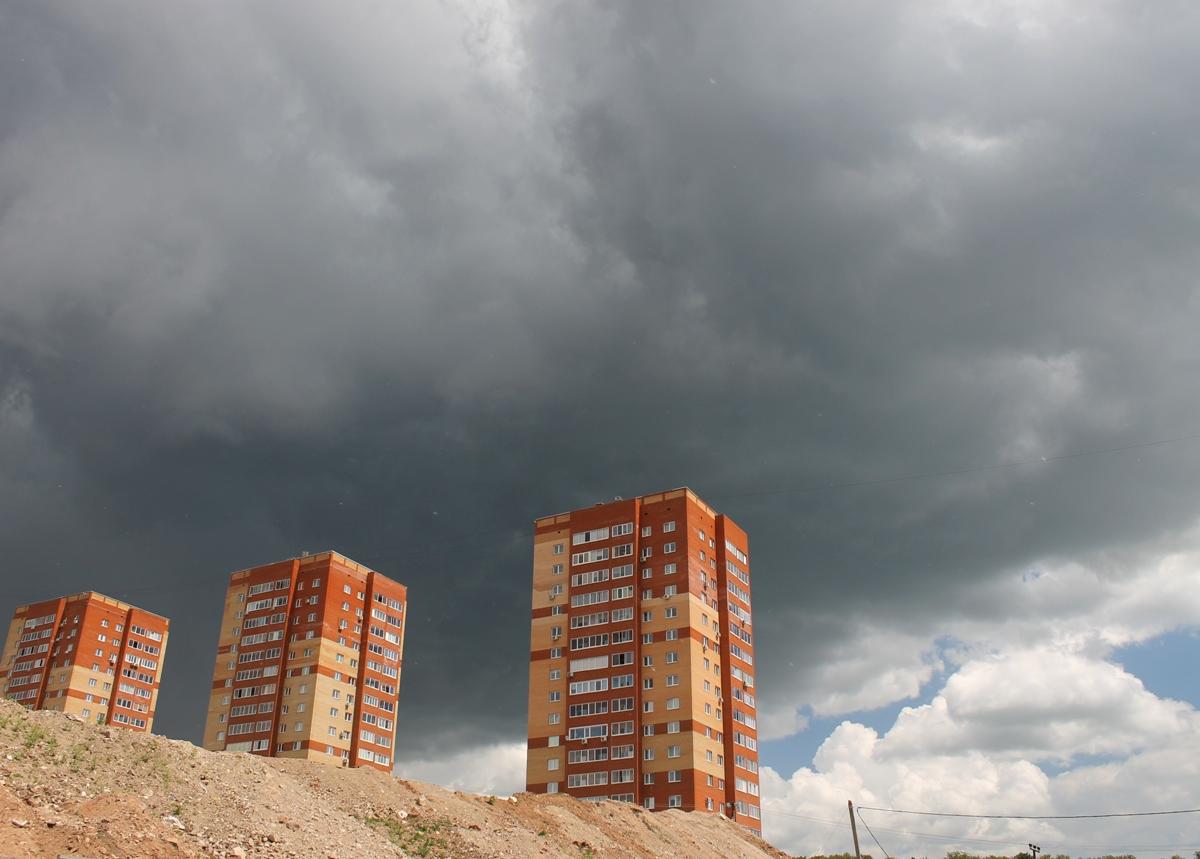 Ливни, сильный ветер: Синоптики предупредили об ухудшении погоды в Башкирии