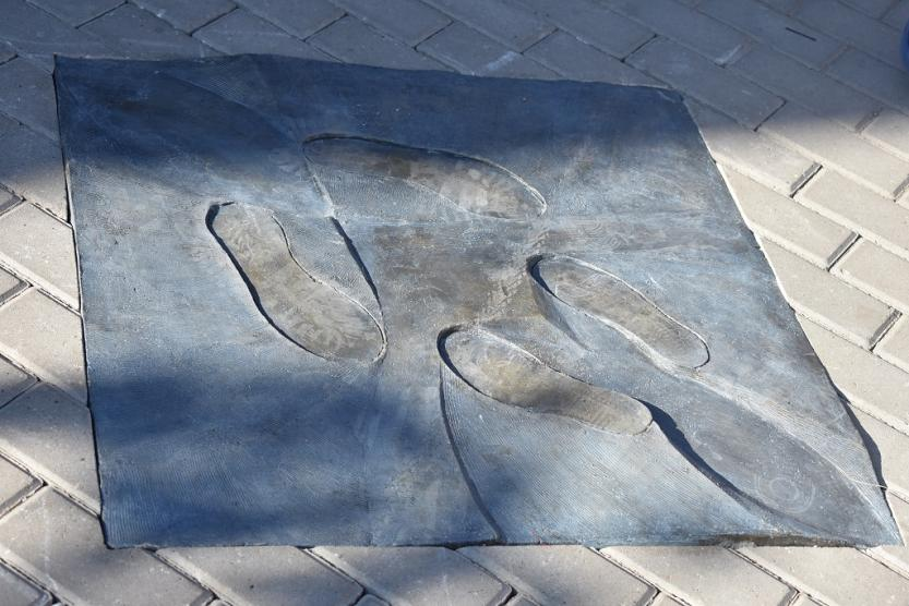 В Уфе открылась посвященная влюбленным необычная скульптура