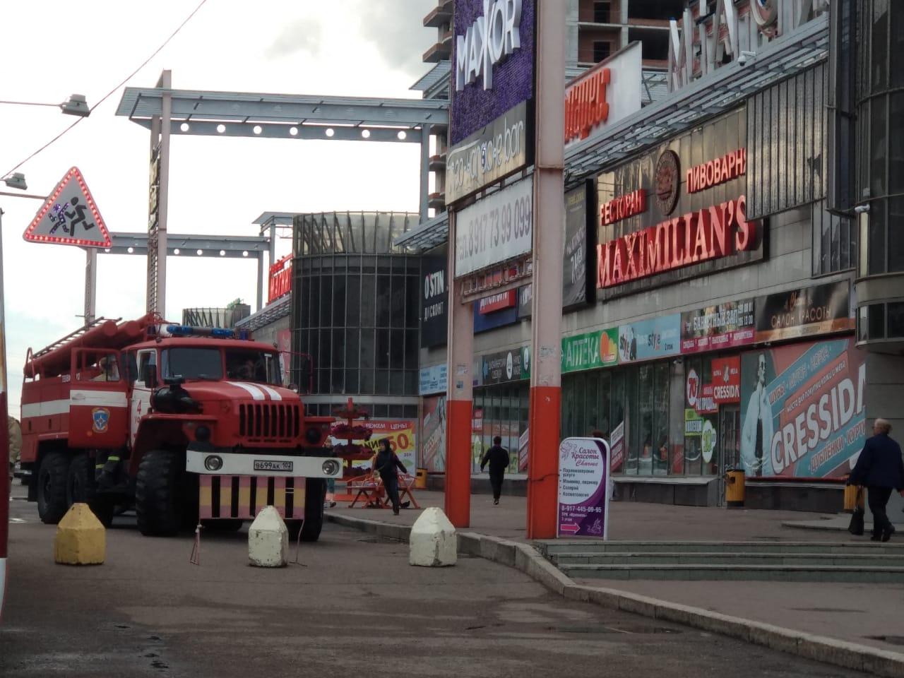 В Уфе из-за подгоревшего попкорна эвакуировали людей из крупного ТЦ