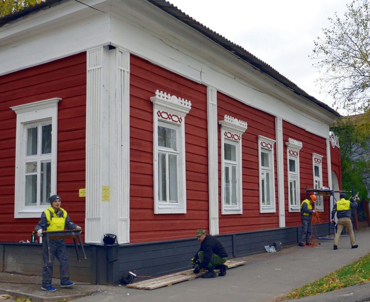 Отремонтированный волонтерами старинный особняк в Уфе включили в список объектов культурного наследия