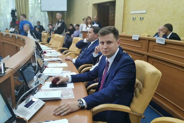 Председателем думы Иркутска избрали Дмитрия Ружникова