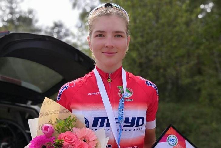 Усольчанка выиграла две золотые медали на всероссийских соревнованиях по велоспорту-шоссе
