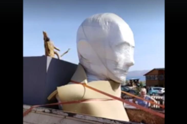 Бюст Путина установят на Ольхоне