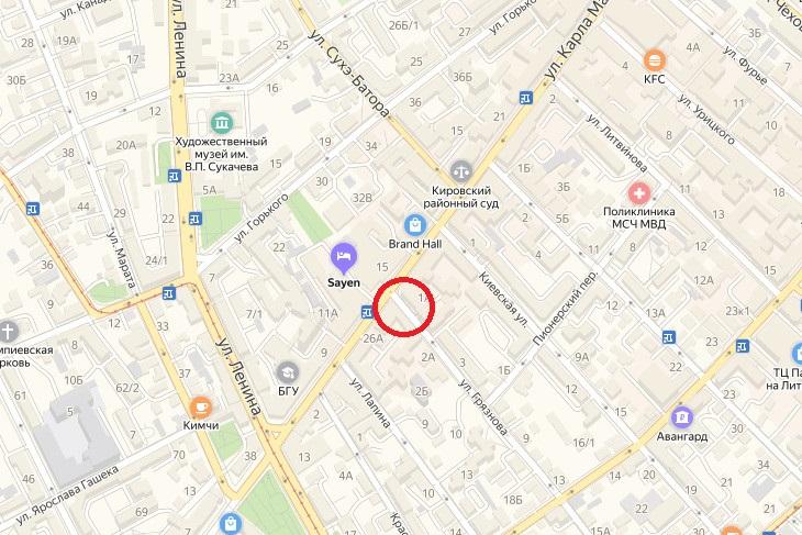 Ограничение движения на улице Грязнова продлят до 24 сентября