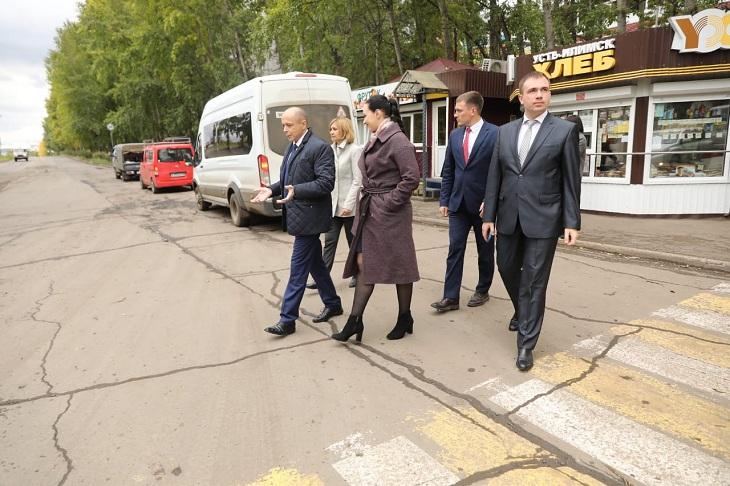Парламентарии Приангарья намерены добиться ремонта дороги в Усть-Илимске за счет областного бюджета