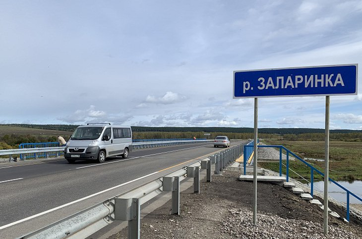 Дорожники досрочно закончили ремонт трех участков федеральной трассы Р-255 «Сибирь»