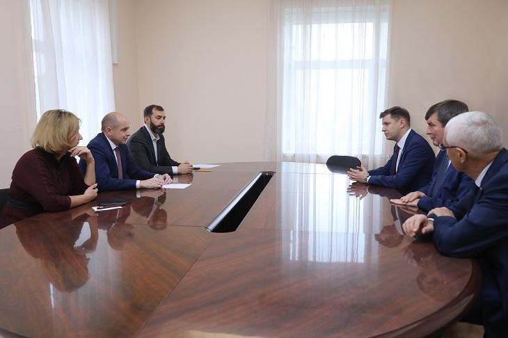 Спикер ЗС Сергей Сокол встретился с избранным председателем гордумы Дмитрием Ружниковым