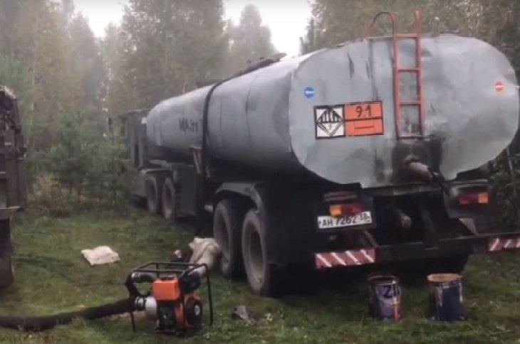 В Ангарске пресекли хищение нефти из магистрального нефтепровода