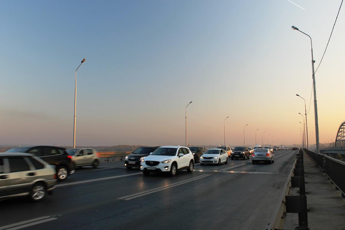 В Уфе на двух загруженных магистралях установили дорожные камеры