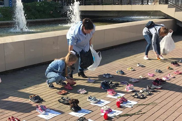 Акция против абортов прошла в Иркутске