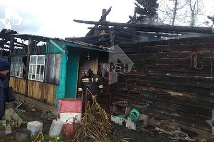Две трехлетние девочки погибли на пожаре в Аларском районе