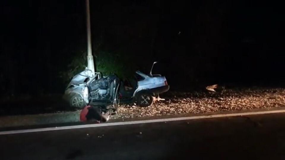 В Уфе молодая пара насмерть разбилась в аварии