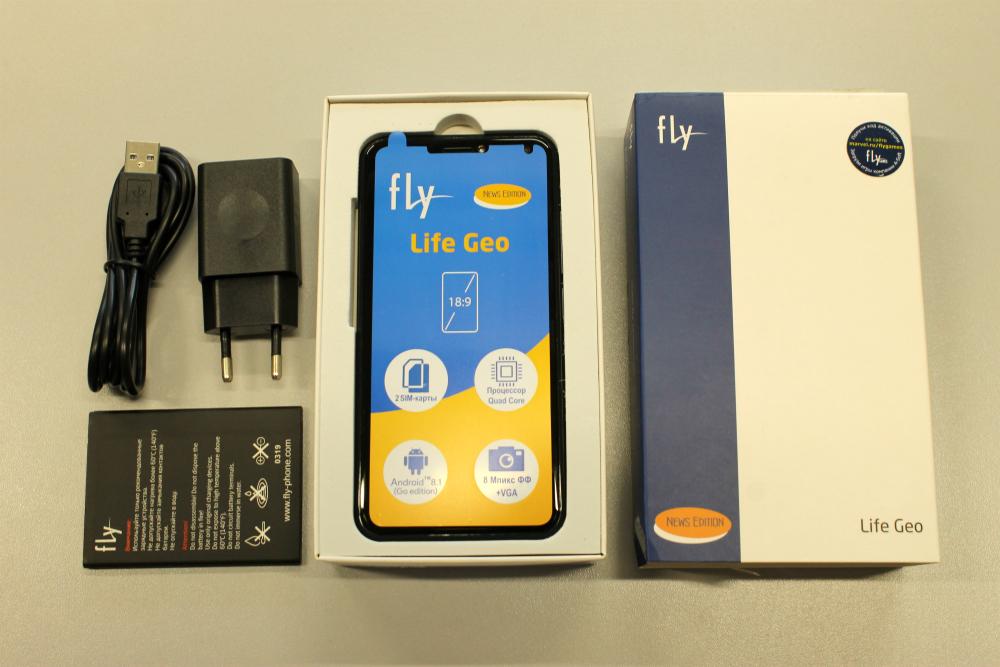 Бюджетный смартфон с новостным контентом на экране блокировки: Тестируем Fly Life Geo
