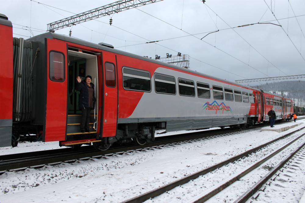 Поезд «Легенда Урала» изменит зимний маршрут: добраться до горнолыжек станет проще