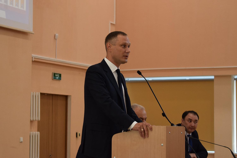 В УГАТУ представили нового ректора