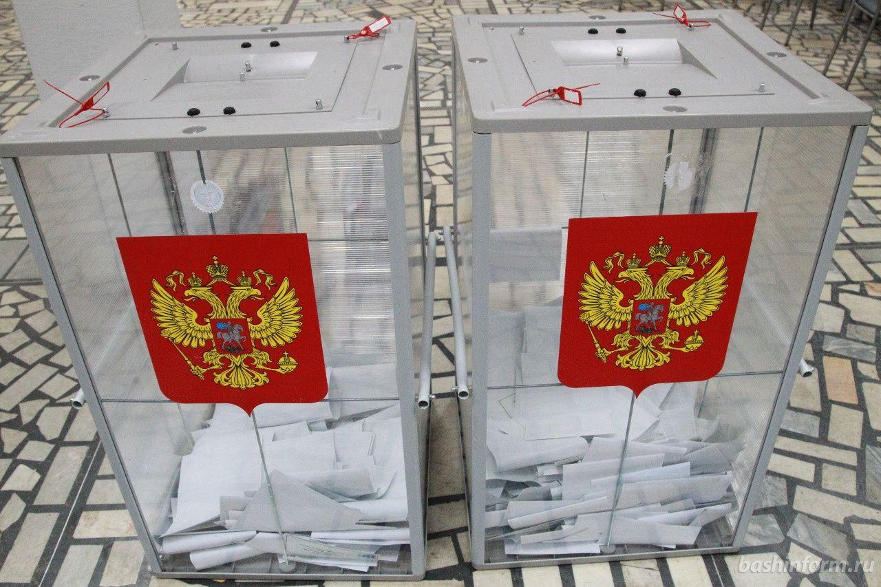 На один из избирательных участков Уфы прибыли полицейские