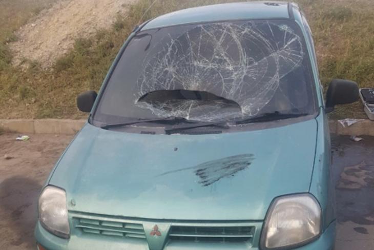 В Иркутске двое детей подожгли иномарку