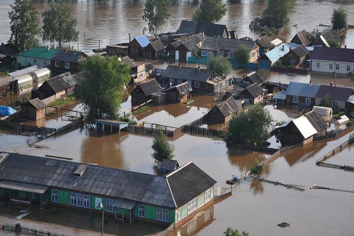 Границы зон подтопления в Иркутской области внесли в реестр недвижимости