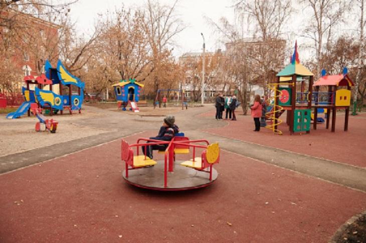 В Иркутске отремонтировали 80% дворовых территорий