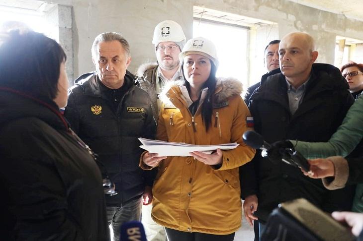 Мутко высоко оценил строительство микрорайона в Черемхово для пострадавших в наводнении
